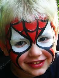 Image result for kids spiderman makeup tutorial