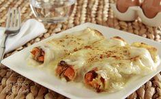 Canelones de verduras - http://www.thermorecetas.com/canelones-de-verduras/