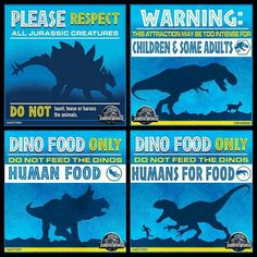 Jurassic World - The Rules