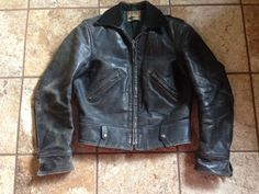 30s 40s Sport Togs Seattle Woolen Co Police Jacket This Sure Does Look Like