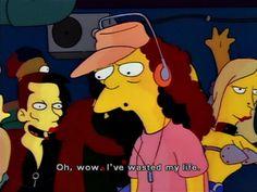 The Simpsons: Photo Disney Instagram, Instagram Girls, Landscape Illustration, Illustration Art, Illustrations, Advertising Quotes, Cartoon Quotes, Batman, Nail Art