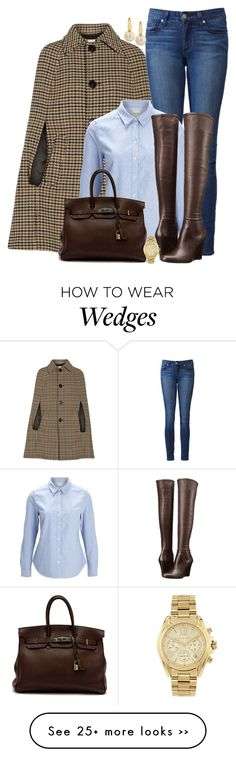 """""""Over the Knee Wedge"""" by ginga1203 on Polyvore"""