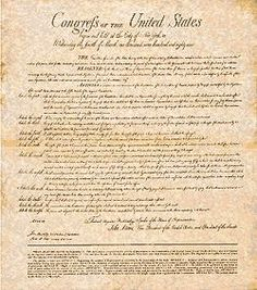 The Bill Of Rights U S Constitution First 10 Amendments