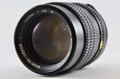 [Exc⁺⁺] MAMIYA-SEKOR C 150mm F3.5 N MF Lens For MAMIYA 645 #MAMIYA
