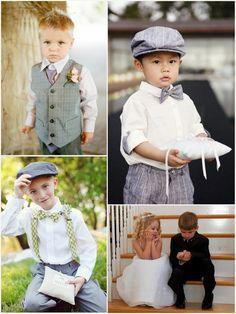 Mali goście na ceremonii ślubnej i weselu •