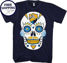 San Diego Chargers Dia De Los Bolts Navy by AFApparel on Etsy