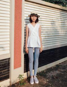 Atasan wanita tanpa lengan terbaru | Yuan Clothing