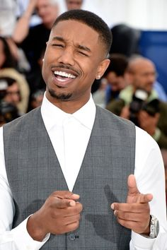 A life without Michael B. Jordan is a life we don't want to know. | 17 Really Good Reasons You Need More Michael B. Jordan In Your Life