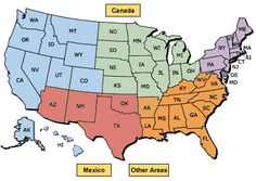 Yurt Vacations - US Map--not just for WA, but for US, Canada, Mexico--gives areas you can rent yurts.