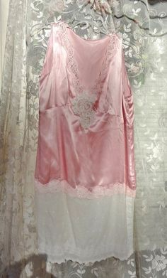 Excited to share the latest addition to my #etsy shop: Shabby Pink Silk Satin Tunic, Altered Couture Dress, Mori Girl, Lace Tunic, Ecofriendly Clothing, Upcycled Recycled Clothing,Shabby Chic,M/L http://etsy.me/2ATTeqK #clothing #women #shirt #alteredcouture #upcycledr