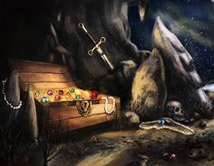 """Check out new work on my @Behance portfolio: """"Winter's treasure"""" http://be.net/gallery/43781609/Winters-treasure"""