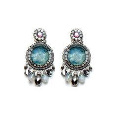 Ayla Bar | Shaded Lake Earrings ($98) ❤ liked on Polyvore
