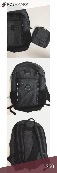 6d818c6273e07 Oakley Backpack Custom EVA shoulder straps and back panel provide  comfortable