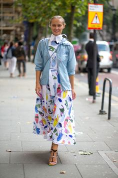 London Fashion Week Street Style Spring 2015 - London Street Style