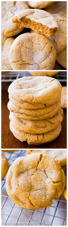 Super soft and chewy brown sugar cookies