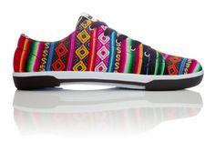 Handmade Inkka shoes from South America ~ love!