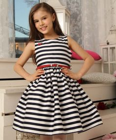 Платье Морячка Красавушка Girls Fashion Clothes, Teen Girl Outfits, Toddler Outfits, Kids Fashion, Kids Dress Wear, Girls Party Dress, Baby Dress, Frocks For Girls, Little Girl Dresses