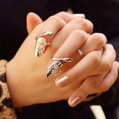 Nail Rings, nueva tendencia en joyas