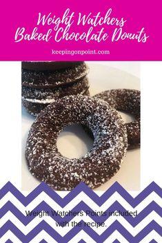 foods to lose weight Weight Watchers Muffins, Weight Watchers Breakfast, Weight Watchers Smart Points, Weight Watchers Desserts, Donut Recipes, Ww Recipes, Healthy Recipes, Healthy Meals, Delicious Recipes