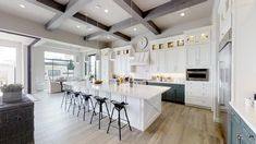 Mansion Plans, Mansion Tour, White Cabinets White Countertops, Modular Home Plans, Farmhouse Architecture, Design Your Own Home, Toll Brothers, New Home Communities, Farmhouse Plans