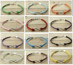 Silver bracelet-Simple bracelet-Infinity wish bracelet-Handmade jewelry bracelet-Charm bangle unisex bracelet gift-God's blessed
