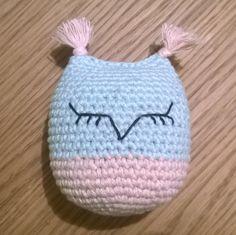 Virkattu pöllö #virkkaus #pöllö #virkattupöllö #crochet #owl #crochetowl