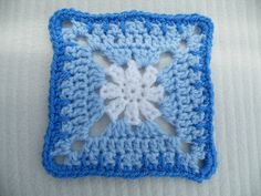 "Ravelry: Tears from Heaven - 6"" square pattern by Melinda Miller"