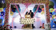 Clothes Design Ideas Baby Shower Ideas For 2019 Naming Ceremony Decoration, Wedding Stage Decorations, Bridal Shower Decorations, Flower Decorations, Cradle Decoration, Cradle Ceremony, Bridal Shower Prizes, Housewarming Decorations, Birthday Balloons