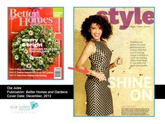 Oia Jules Sparkle Cuff $32.00 Better Homes & Gardens Magazine December 2013 oiajules.com