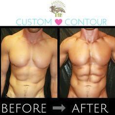 Airbrush Contour + Spray Tan = Perfection. #fitness #bodycontour #airbrushtan #spraytan #physique #learntospraytan