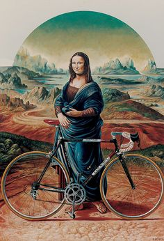 La  Gioconda Colnago [Piero Costa on FLICKR] (Gioconda / Mona Lisa)