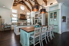 Weber Design Group Turquoise Kitchen