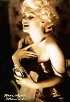"A reporter asked everyone's favorite love goddess, Marilyn Monroe, what she wore to bed. ""Chanel No. 5,"" was her response."