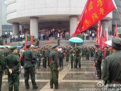 生活窘迫越战老兵聚集北京上访遭推诿拦截(图_加拿大家园网