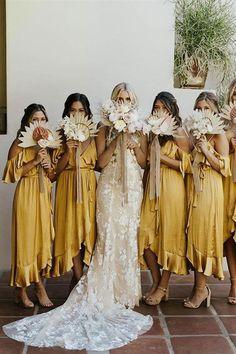 Trending: Mustard Yellow Modern Boho Style Creative Wedding Styling and Event De. - Trending: Mustard Yellow Modern Boho Style Creative Wedding Styling and Event Design Source by - Wedding Trends, Wedding Styles, Wedding Venues, Wedding Ceremony, Wedding Boquette, Wedding Table, Wedding Gowns, Rustic Wedding, Best Wedding Ideas