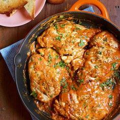 Chicken in Deviled Gravy