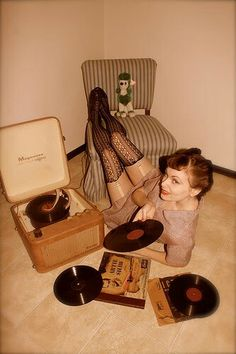 Girl, put your records on....