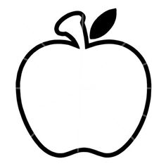 apple outline free pictures, images apple outline download