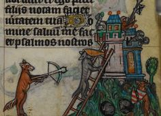 Siege of the monkey castle. @BLMedieval Stowe MS 17, f. 244r http://www.bl.uk/manuscripts/Viewer.aspx?ref=stowe_ms_17_fs001r…