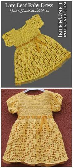 66 ideas crochet lace dress pattern girl dolls for 2019 Lace Dress Pattern, Crochet Baby Dress Free Pattern, Crochet Baby Poncho, Crochet Baby Bonnet, Girl Dress Patterns, Crochet Girls, Crochet Baby Clothes, Crochet For Kids, Baby Knitting