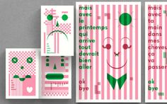 Pointbarre: I Can Not Draw, Booklets/posters