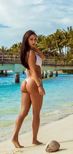 Ass bare bottom bum butt her tanning white