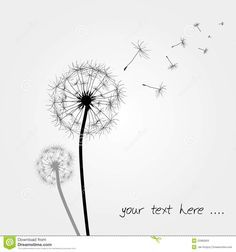 Image result for watercolor dandelion tattoo