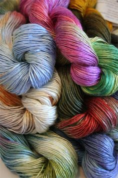 Artyarns newest delight - beaded silk with sequins Light! 110 Yards of heavenliness. Crisp, shiny - wonderful for lightweight shawls or even crocheted jewelry- this is a stunning choice for any projec