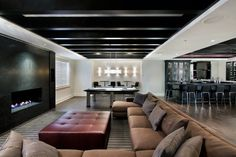 Elegant Cool Ideas for Basement
