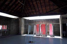 louis kahn - Trenton Bath House - interior / The Bath House