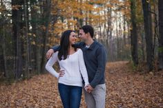 Fall Engagement at the Mill of Kintail by Ottawa Wedding Photographer Joey Rudd Photography Fall Photos Autumn