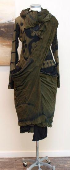 stilecht - mode für frauen mit format... - rundholz black label - Shirt Handpainted - Winter 2013 D+