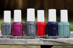 Six seductive lacquer looks, perfect for any season.