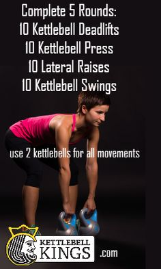Kettlebell, kettlebell workout, kettlebell exercise, kettlebell workout…